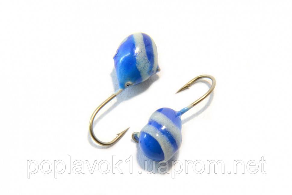 Мормышка вольфрамовоя LJ Шар 5мм (синий)