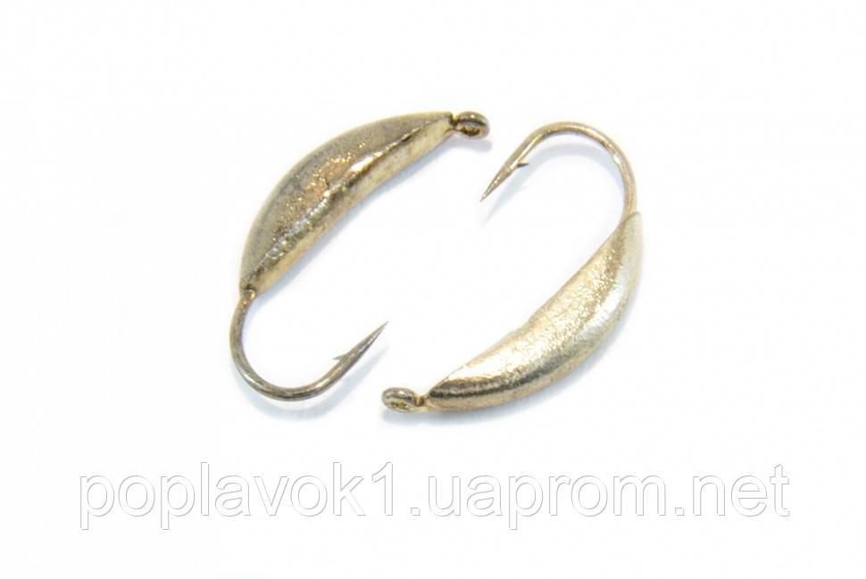 Мормышка вольфрамовая Банан 3мм (серебро)