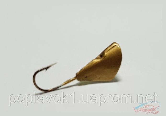 Мормышка Kostal 1.25g Gold