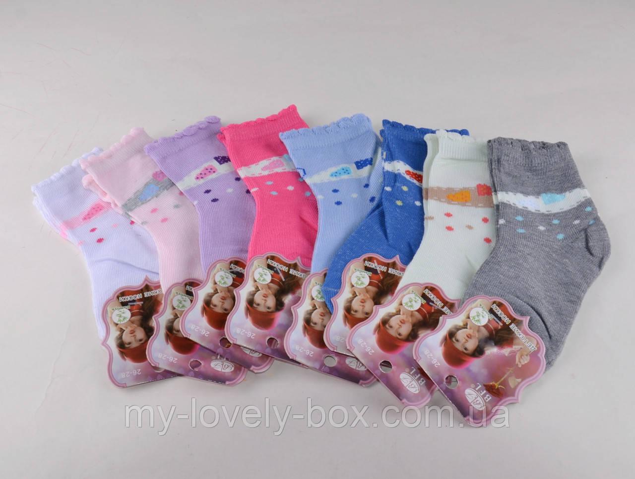 ОПТОМ.Детские носки цветные с рисунком р.26-28 (C196/M) | 12 пар