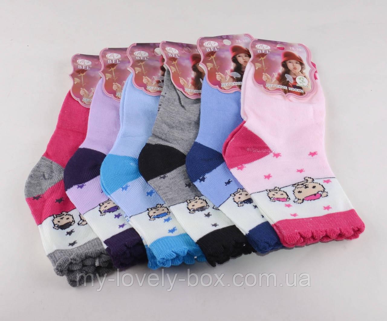 ОПТОМ.Детские носки Мишки цветные р.28-30 (C187/L) | 12 пар