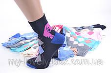 ОПТОМ.Детские носки на девочку с узором (TKC218/34-37) | 12 пар, фото 3