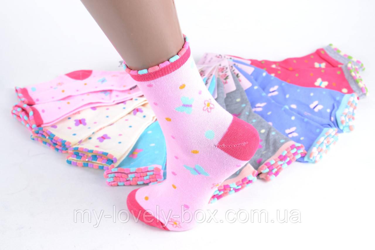 ОПТОМ.Носки детские на девочку (TKC220/34-37) | 12 пар