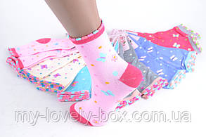 ОПТОМ.Носки детские на девочку (TKC220/34-37) | 12 пар, фото 2