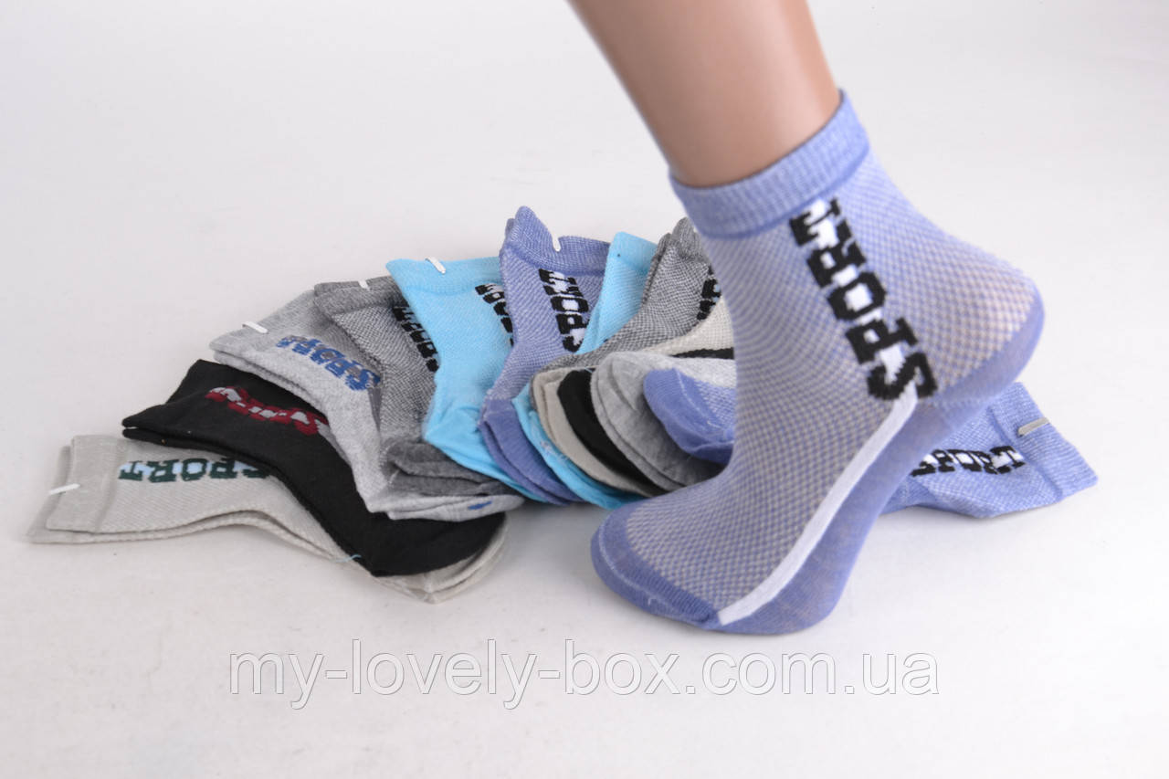 ОПТОМ.Детские носки на мальчика Спорт (D3118/20-23) | 12 пар
