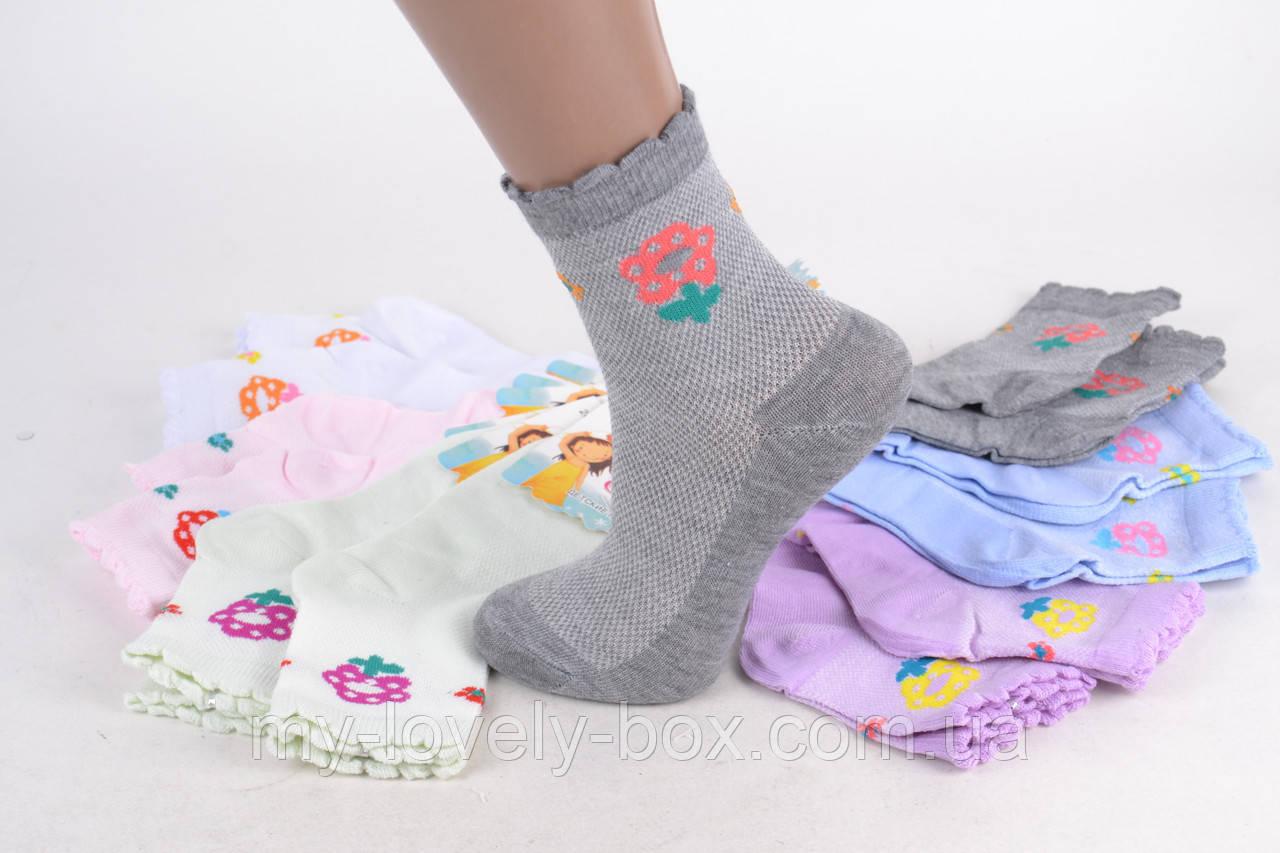 ОПТОМ.Детские носки на девочку сетка ( WC243/M )   12 пар