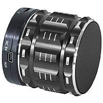 Колонка BL Lesko S-28 черная с функцией Bluetooth-спикера поддержка карты памяти в металлическом корпусе mp3, фото 3