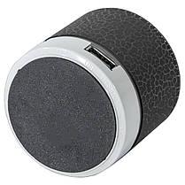 Портативная колонка Lesko BL S60U черная подсветкой Bluetooth мощный USB microSD картой памяти аккумулятором, фото 3