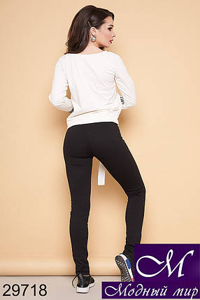Женский спортивный летний костюм (р. S, M, L, XL) арт. 29718, фото 2