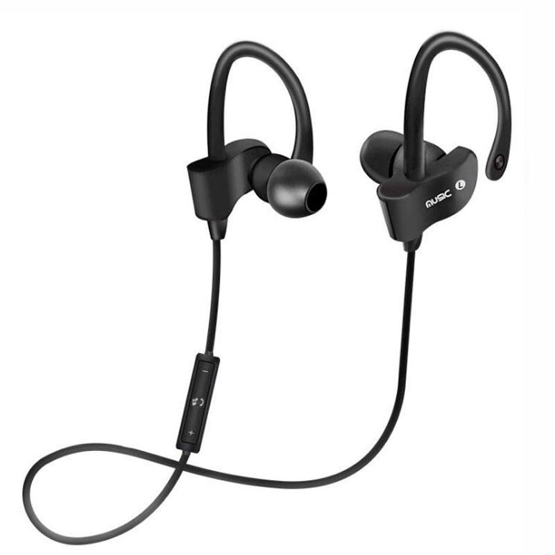➤Bluetooth гарнитура Freesolo 56S Black для android музыкальная для смартфона беспроводная Блютуз 4.1