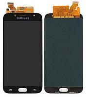 Дисплей (экран) Samsung J730 Galaxy J7 (2017) PLS TFT (с регулируемой подсветкой)с тачскрином в сборе, черный
