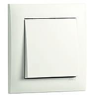 Выключатель одноклавишный проходной Efapel Logus90 10А 250В белый (21071 TBR)