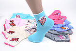 ОПТОМ.Детские Хлопковые носки на девочку (Арт. C257/M)   12 пар, фото 2