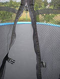 Батут FunFit 435 см сетка + лестница, фото 9