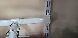 Перемычка в рейку 60 см цвет: белый, чёрный, металлик.