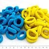 Резинки желто-синие маленькие, 2 шт