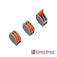ElectroHouse Коннектор на два контакта (400В, 32А)