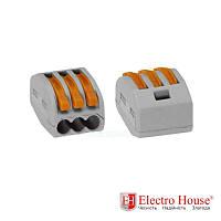 ElectroHouse Коннектор на три контакта (400В, 32А)