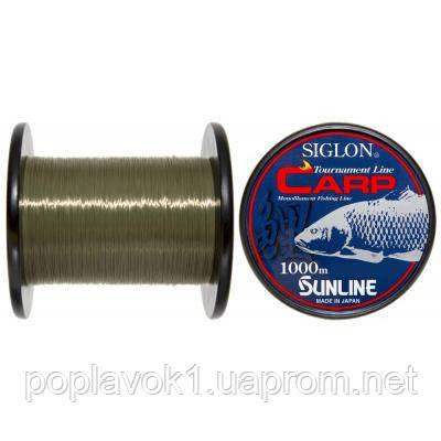 Леска Sunline SiglonI Carp 1000м (зеленый) (0.28мм 5.5кг)