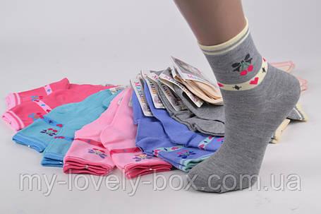 ОПТОМ.Детские Хлопковые носки на девочку (Арт. C261/M) | 12 пар, фото 2