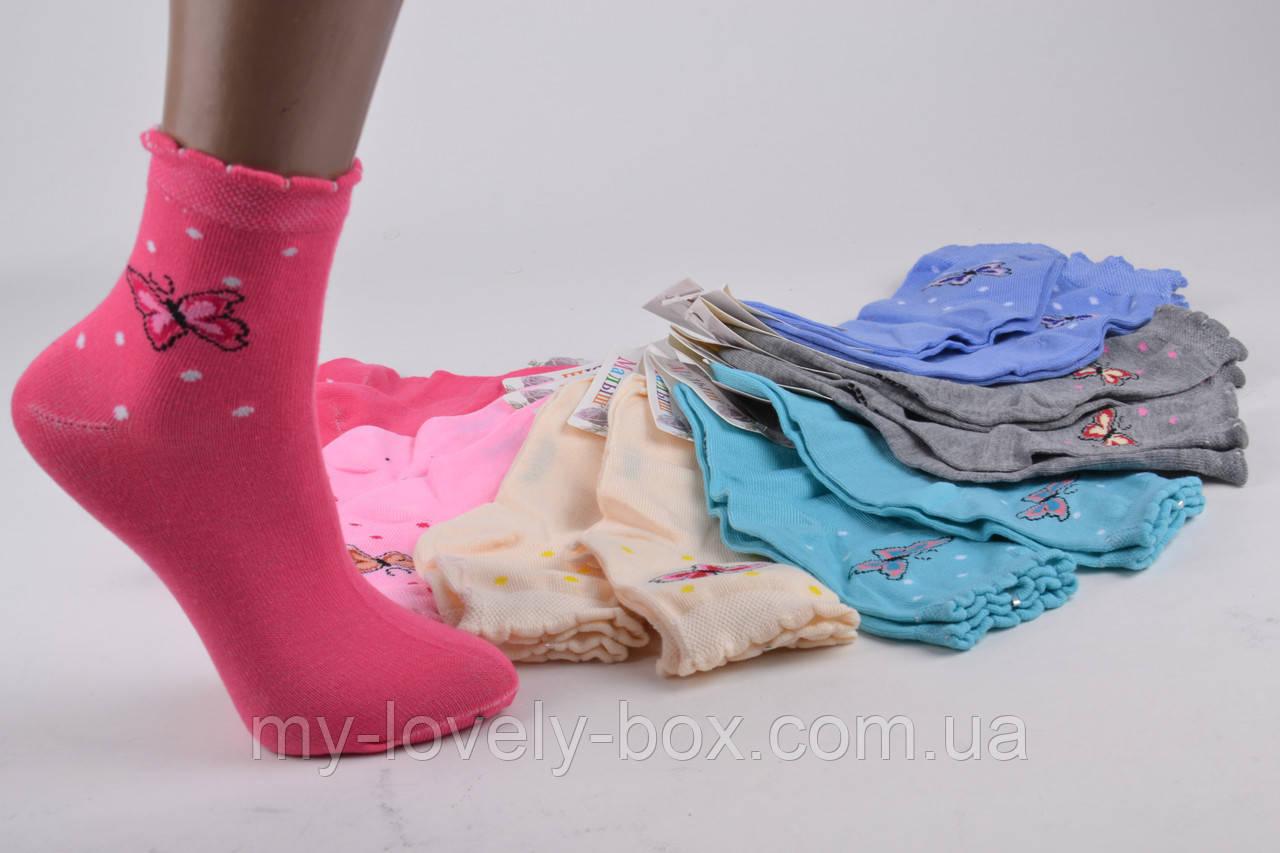 ОПТОМ.Детские Хлопковые носки на девочку (Арт. C259/M) | 12 пар