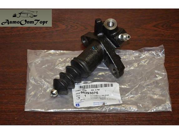 Рабочий цилиндр сцепления на Chevrolet Aveo, Авео, model: 96293075-25183025, произ-во: General Motors (GM),, фото 2
