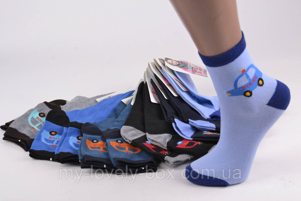 ОПТОМ.Детские Хлопковые носки на мальчика (Арт. C169/L) | 12 пар