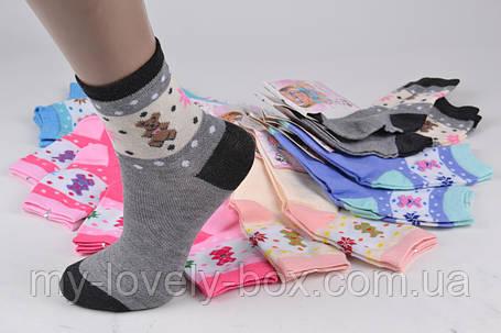 ОПТОМ.Детские Хлопковые носки на девочку (TKC265/S) | 12 пар, фото 2