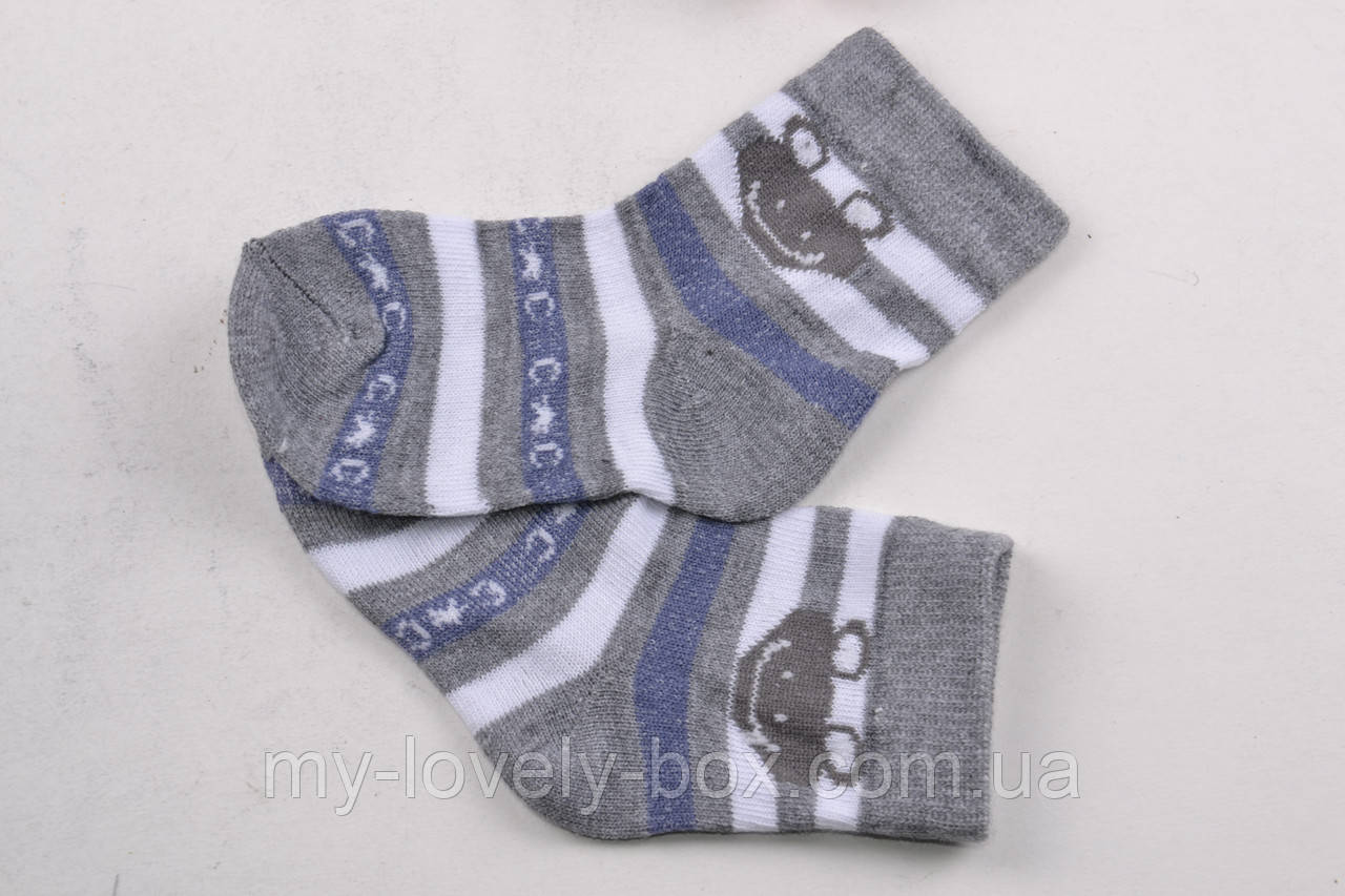 ОПТОМ.Детские Хлопковые носки на мальчика (Арт. ALC63/S) | 12 пар