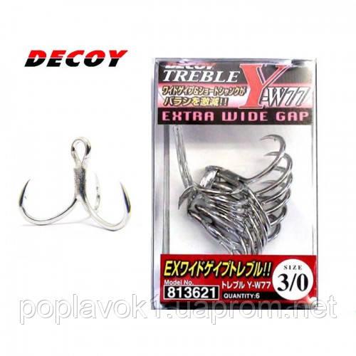 Крючок Decoy Y-W77 (8, 6шт)