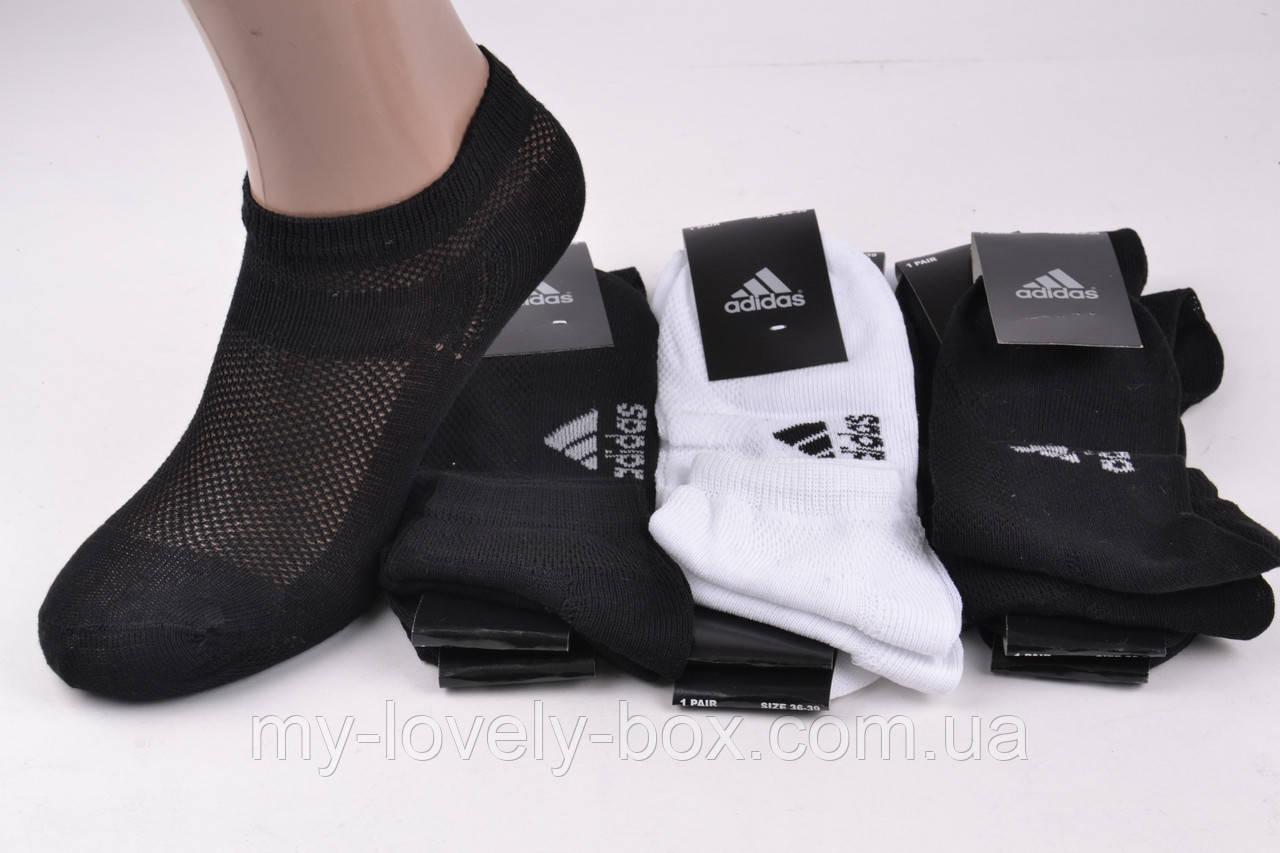"ОПТОМ.Носки подросток ""Adidas"" сетка (Арт. LC215) | 12 пар"