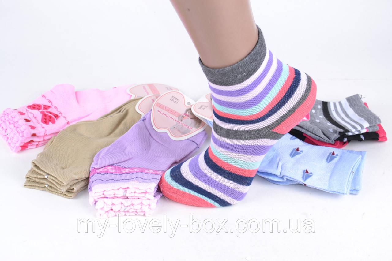 ОПТОМ.Детские Хлопковые носки на девочку (Aрт. BFL223/20-22)   12 пар