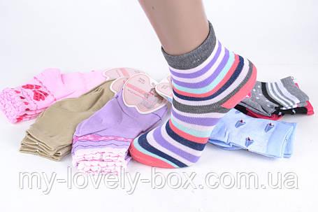 ОПТОМ.Детские Хлопковые носки на девочку (Aрт. BFL223/20-22) | 12 пар, фото 2