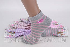 ОПТОМ.Детские Хлопковые носки на девочку (Арт. FE5023-5/30-35) | 12 пар, фото 2