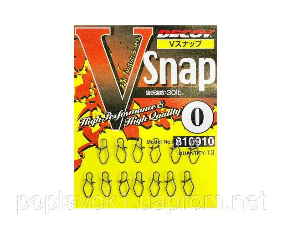 Застежка Decoy V Snap