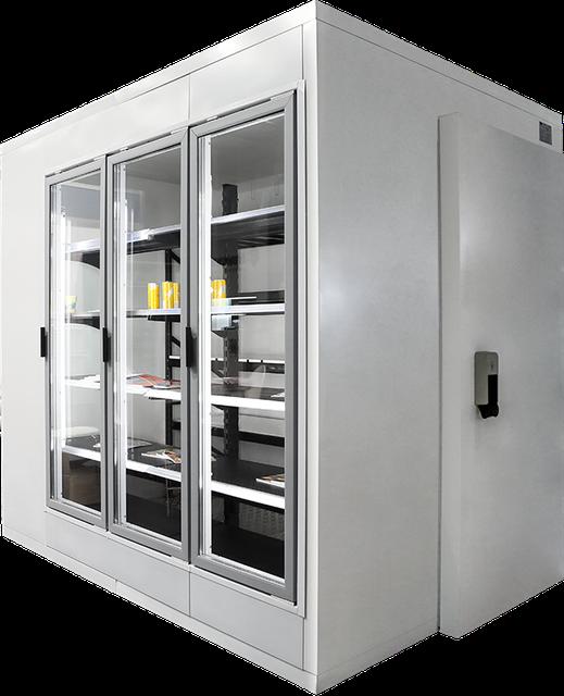 Камеры холодильные
