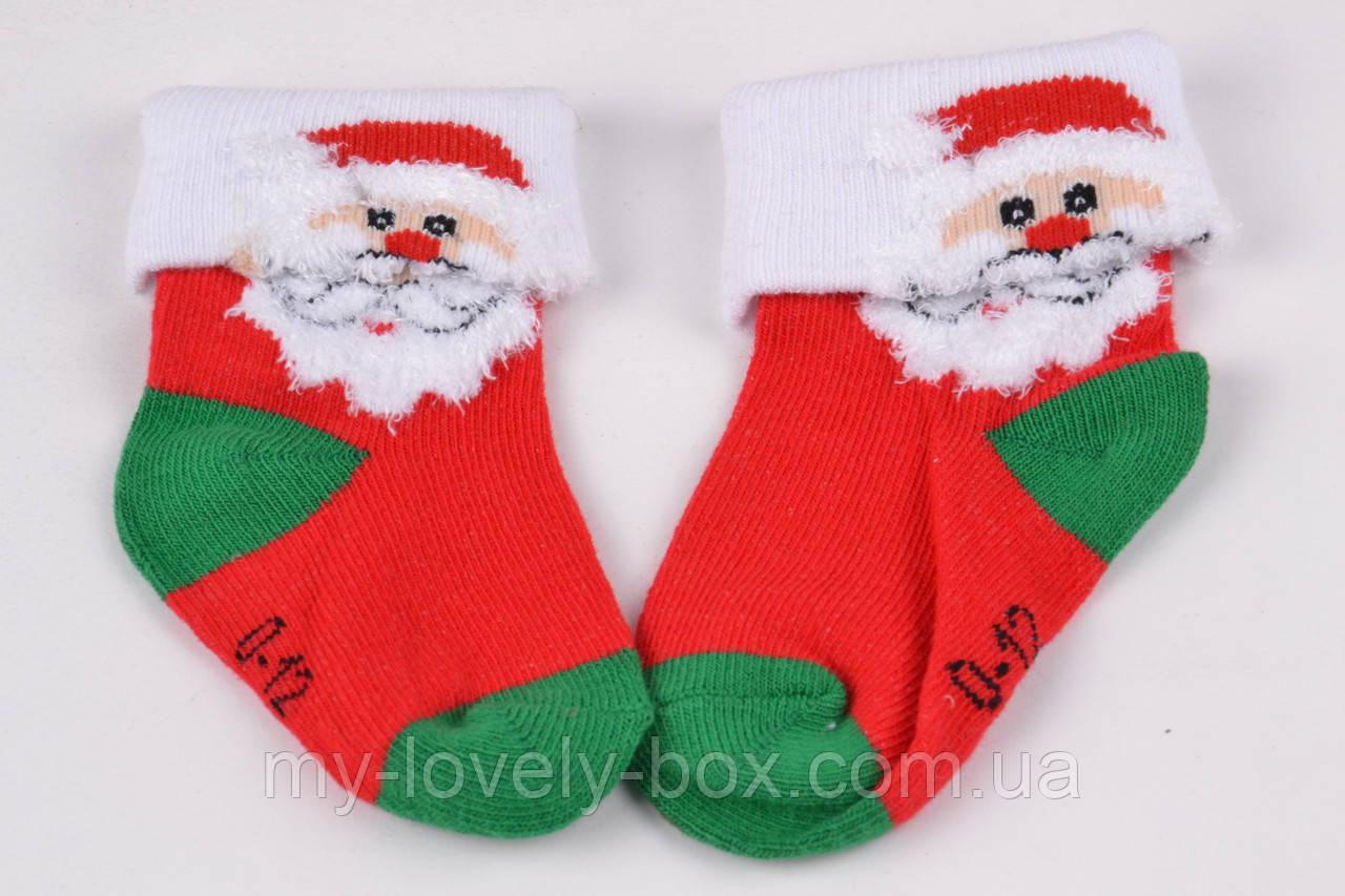 """ОПТОМ.Детские носки с зимним рисунком """"Cotton"""" (Арт. SB66/12-24)   5 пар"""