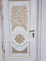 Двері  (двери) з масиву дерева(ясен).