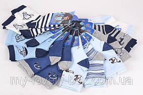 "ОПТОМ.Детские носки на мальчика ""Фенна"" ХЛОПОК (FEC5010/20-25) | 12 пар, фото 3"