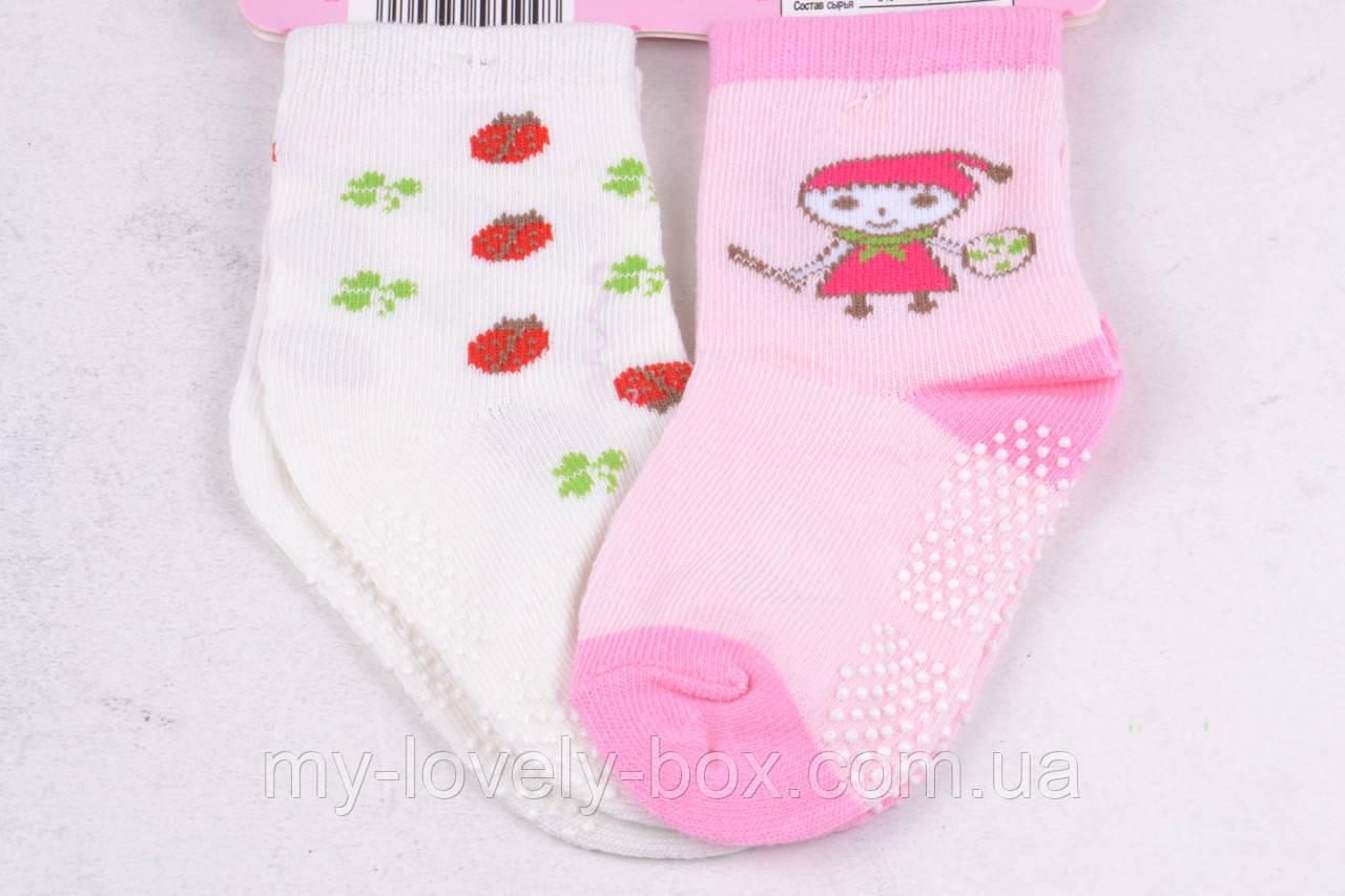 ОПТОМ.Носочки Хлопковые на девочку (FEC5008/0-6) | 12 пар