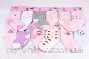 ОПТОМ.Носочки Хлопковые на девочку (FEC5008/0-6) | 12 пар, фото 3