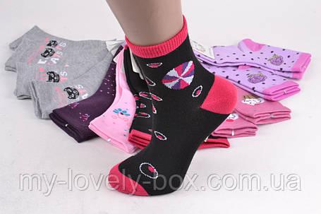 "ОПТОМ.Детские Хлопковые носки на девочку ""Фенна"" (FE3501-1/30-35) | 12 пар, фото 2"