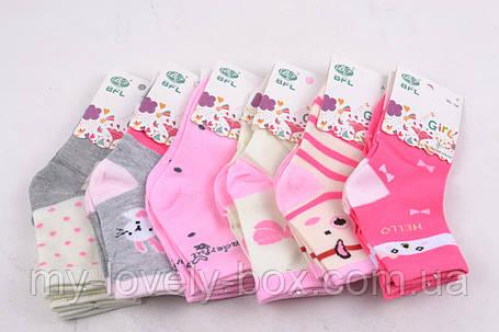 "ОПТОМ.Детские носки на девочку ""ХЛОПОК"" (C283/S) | 12 пар, фото 2"