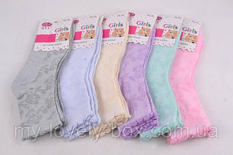 "ОПТОМ.Детские носки на девочку ""ХЛОПОК"" (C248/L)   12 пар, фото 2"