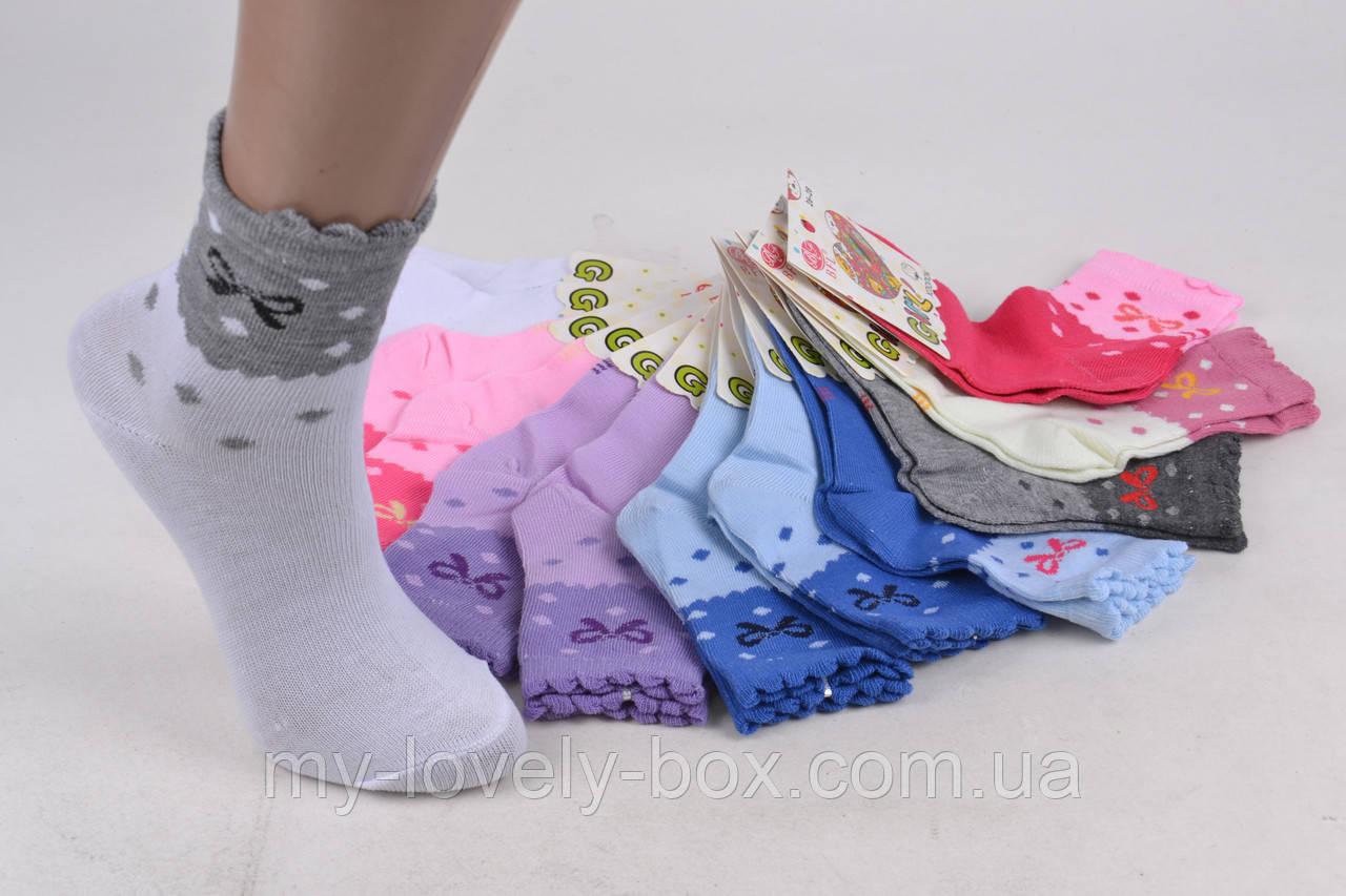 ОПТОМ.Детские Хлопковые носки на девочку (Арт. C193/M) | 12 пар