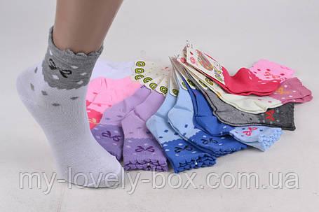 ОПТОМ.Детские Хлопковые носки на девочку (Арт. C193/M) | 12 пар, фото 2