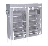 Текстильный шкаф для обуви GABI (серый ), фото 1