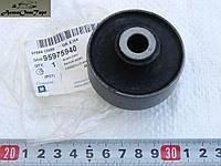 Сайлентблок (втулка) переднего рычага задний на Chevrolet Aveo усиленный, произ-во: General Motors (GM), кат. код: 96653381/95975940; (1