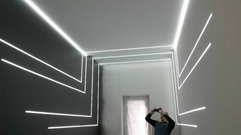 Светодиодная подсветка стен и потолка