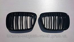Решетка радиатора Ноздри BMW E39 глянец